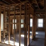 Renovation, Framing, rooms, Jail Hill Inn, Galena, Illinois