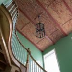 Stair renovation, Jail Hill Inn, Galena, Illinois