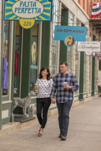 Main Street Shopping in Downtown Galena, Illinois