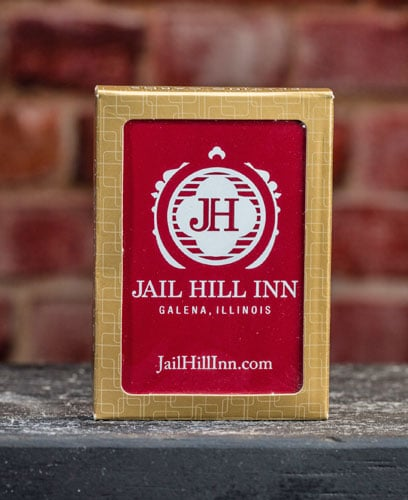 Jail Hill Inn Custom Playing Cards