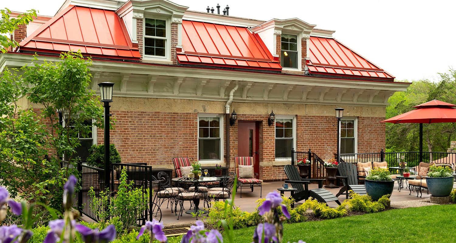 After hiking in Galena IL, relax and unwind at our beautiful Galena Bed and Breakfast This Summer