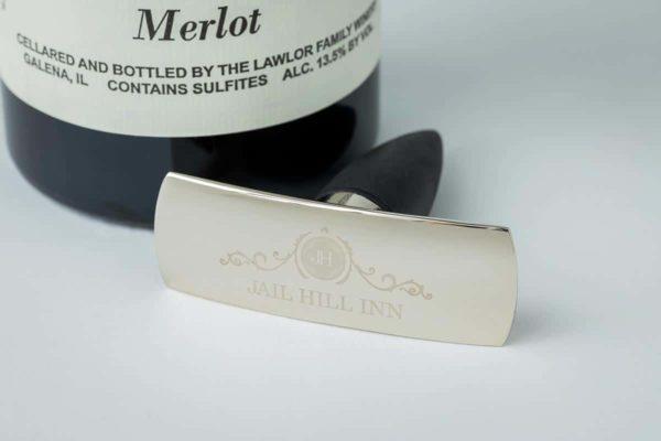 Jail Hill Inn Engraved Wine Stopper 1