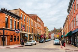 The beautiful historic buildings and historic attractions in downtown Galena IL